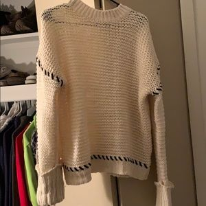Over size, pull over sweater